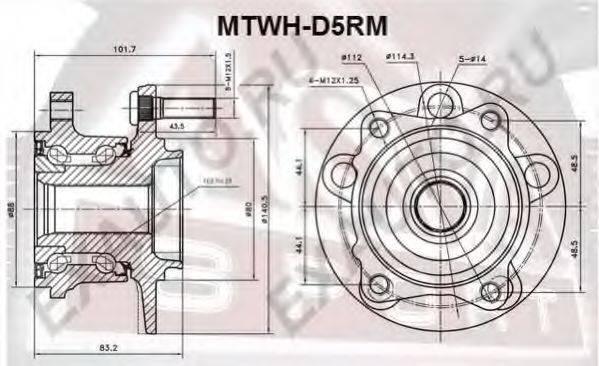 ASVA MTWH-D5RM