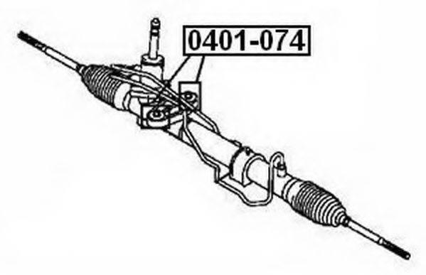 ASVA 0401074 Подвеска, рычаг независимой подвески колеса