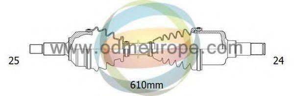 ODM-MULTIPARTS 18161450 Приводной вал