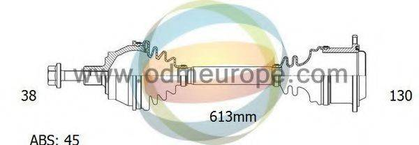 ODM-MULTIPARTS 18211641 Приводной вал