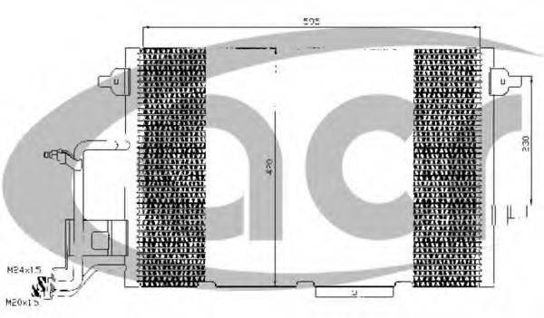 ACR 300349 Конденсатор, кондиционер