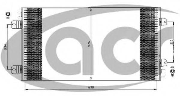 ACR 300530 Конденсатор, кондиционер