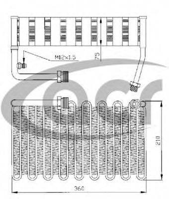 ACR 310018 Испаритель, кондиционер