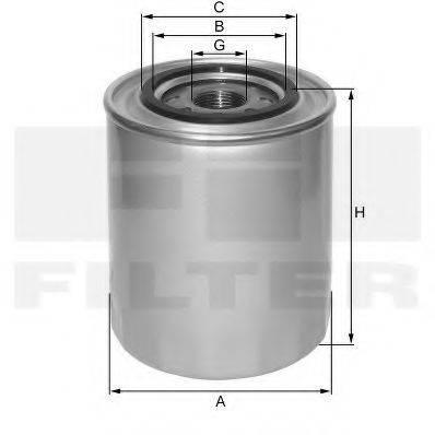 FIL FILTER ZP3502D Масляный фильтр