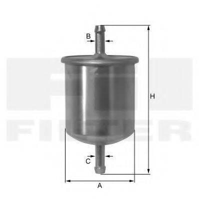 FIL FILTER ZP8075FM Топливный фильтр