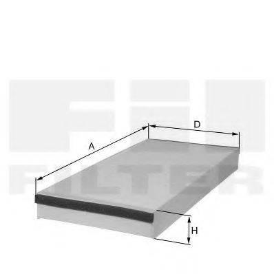 FIL FILTER HC7120 Фильтр, воздух во внутренном пространстве