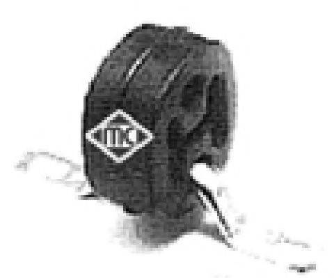 METALCAUCHO 02735 Кронштейн, система выпуска ОГ