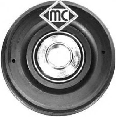 METALCAUCHO 04585 Ременный шкив, коленчатый вал