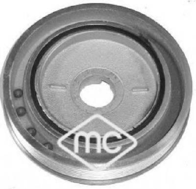 METALCAUCHO 05842 Ременный шкив, коленчатый вал