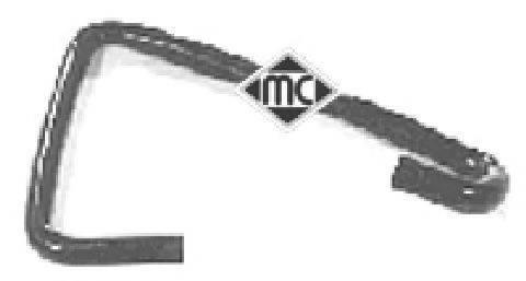 METALCAUCHO 08309 Трубка, клапан возврата ОГ