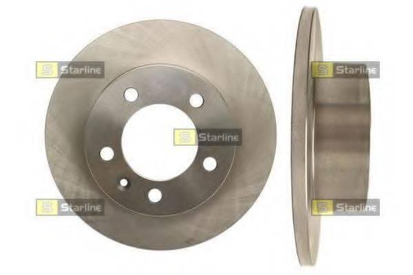 STARLINE PB1584 Тормозной диск