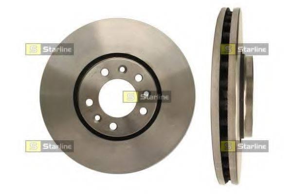 STARLINE PB20652 Тормозной диск