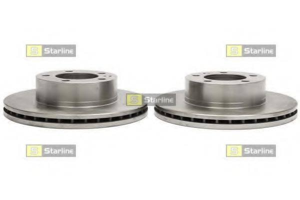 STARLINE PB2881 Тормозной диск