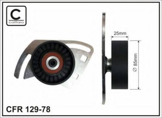 CAFFARO 12978 Натяжитель ремня, клиновой зубча