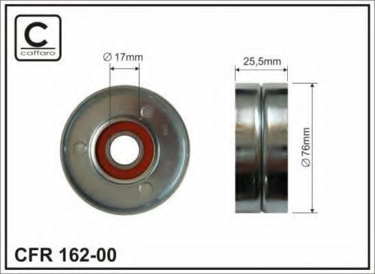 CAFFARO 16200 Паразитный / ведущий ролик, поликлиновой ремень