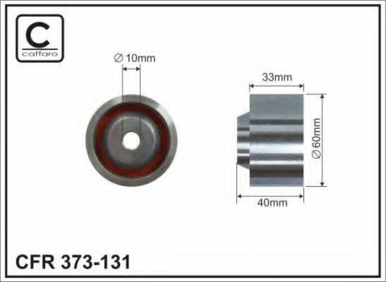 CAFFARO 373131 Паразитный / Ведущий ролик, зубчатый ремень