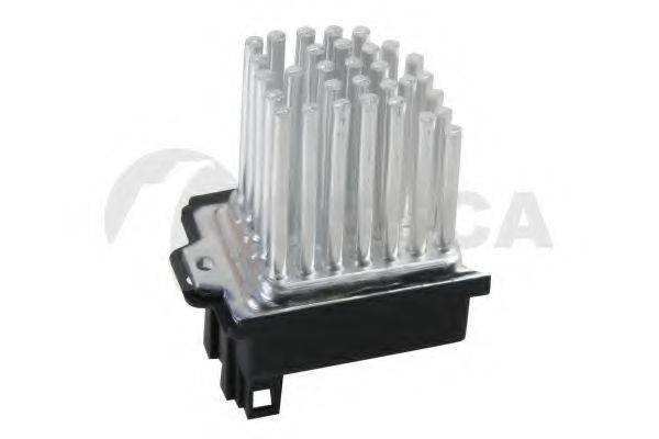 OSSCA 08081 Сопротивление, вентилятор салона