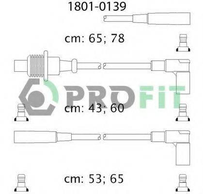 PROFIT 18010139 Комплект проводов зажигания