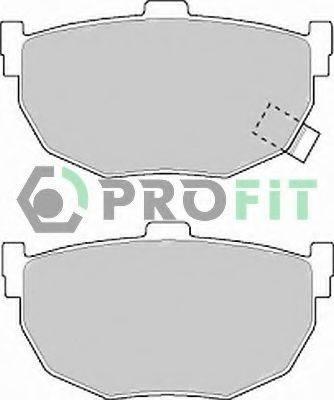 PROFIT 50000638 Комплект тормозных колодок, дисковый тормоз