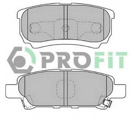 PROFIT 50001839 Комплект тормозных колодок, дисковый тормоз