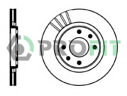 PROFIT 50100192 Тормозной диск