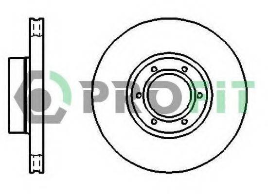 PROFIT 50101067 Тормозной диск