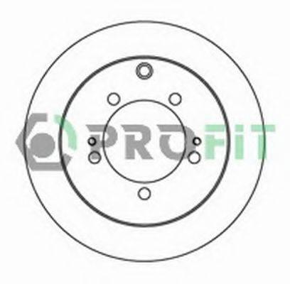 PROFIT 50102018 Тормозной диск