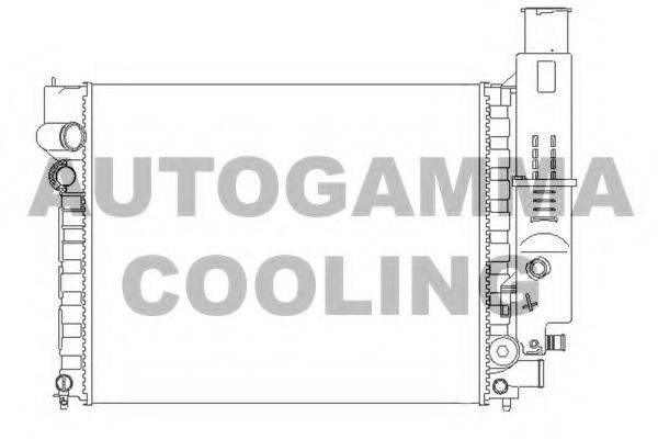 AUTOGAMMA 100764 Радиатор, охлаждение двигателя