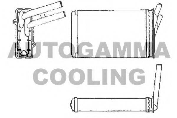 AUTOGAMMA 101972 Теплообменник, отопление салона