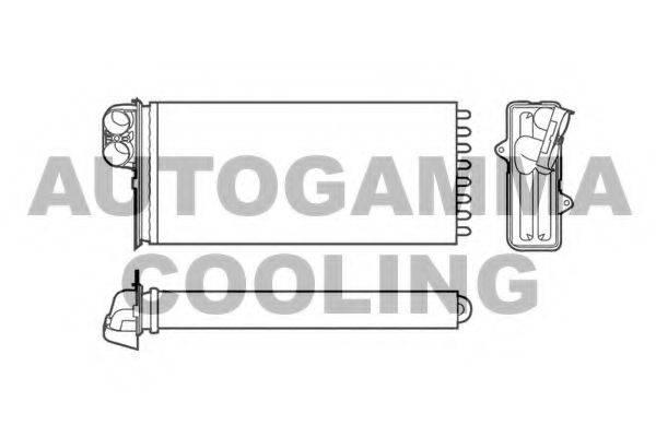 AUTOGAMMA 101975 Теплообменник, отопление салона