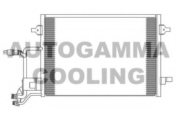 AUTOGAMMA 102420 Конденсатор, кондиционер