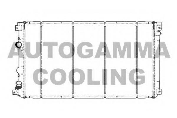 AUTOGAMMA 103738 Радиатор, охлаждение двигателя