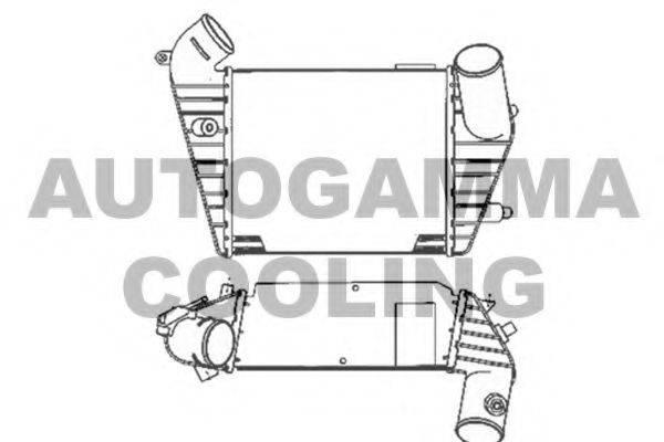 AUTOGAMMA 103881 Интеркулер