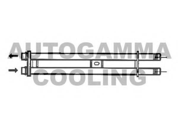 AUTOGAMMA 104216 Теплообменник, отопление салона