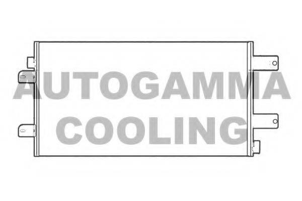 AUTOGAMMA 104577 Конденсатор, кондиционер