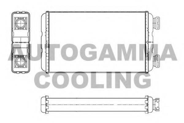 AUTOGAMMA 104616 Теплообменник, отопление салона