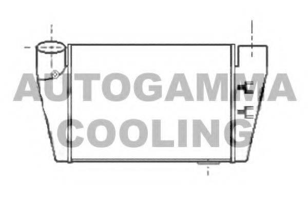 AUTOGAMMA 104961 Интеркулер