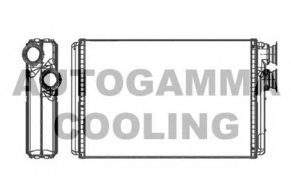 AUTOGAMMA 107262 Теплообменник, отопление салона