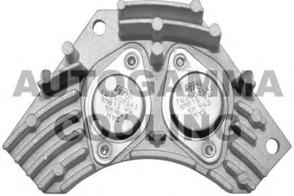 AUTOGAMMA GA15280 Сопротивление, вентилятор салона