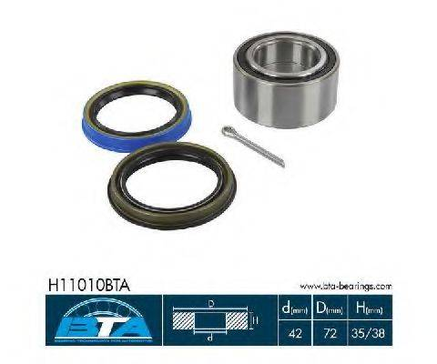 BTA H11010BTA Комплект подшипника ступицы колеса