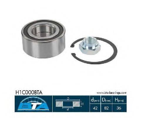 BTA H1C000BTA Комплект подшипника ступицы колеса