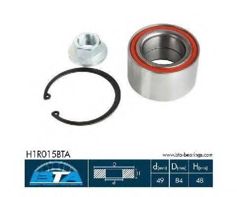 BTA H1R015BTA Комплект подшипника ступицы колеса