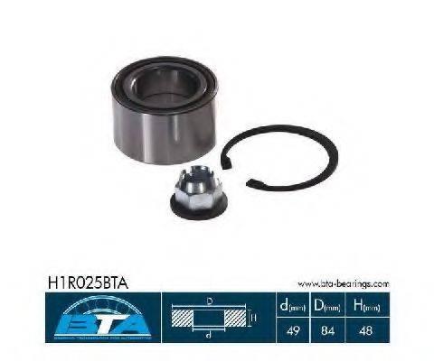BTA H1R025BTA Комплект подшипника ступицы колеса