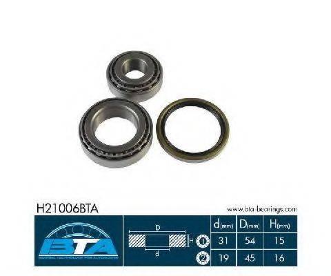 BTA H21006BTA Комплект подшипника ступицы колеса