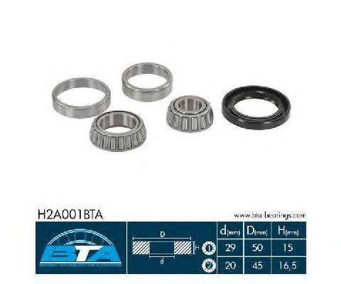BTA H2A001BTA Комплект подшипника ступицы колеса