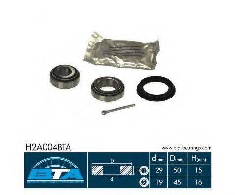BTA H2A004BTA Комплект подшипника ступицы колеса