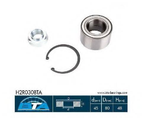 BTA H2R030BTA Комплект подшипника ступицы колеса