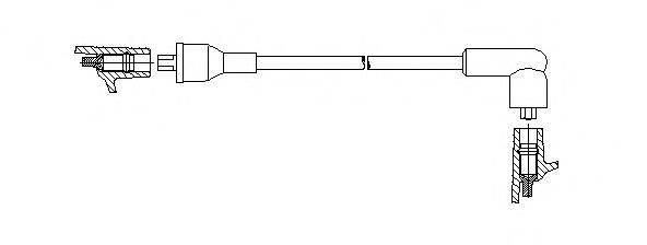BREMI 61455 Провод зажигания