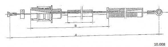 CABOR 10008 Тросик газа
