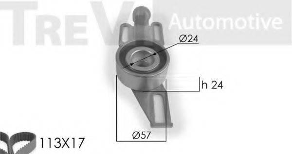 TREVI AUTOMOTIVE KD1005 Комплект ремня ГРМ